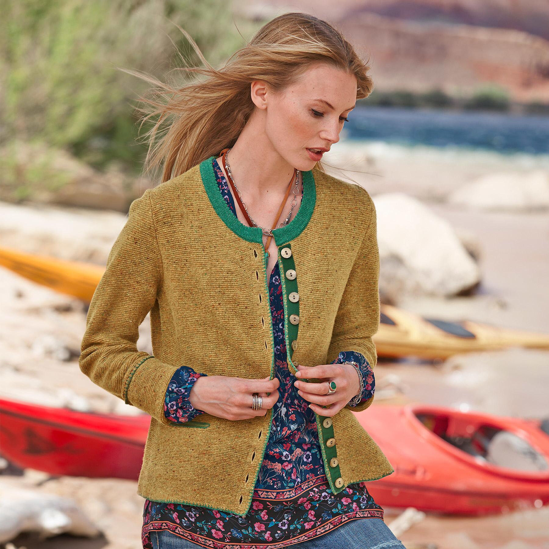 DONEGAL COVINGTON CARDIGAN: View 1