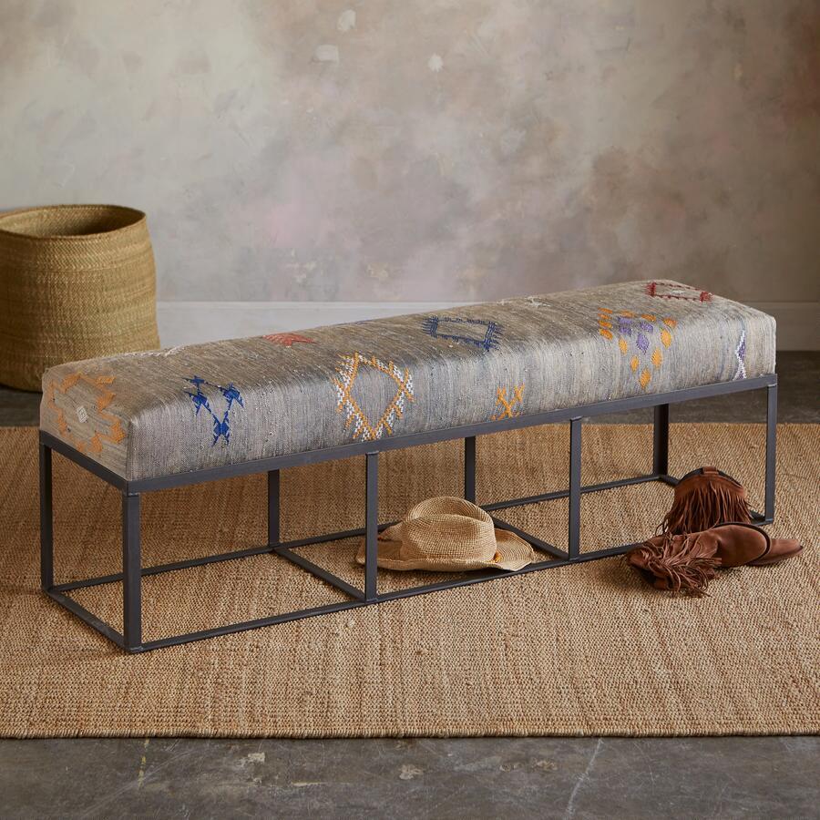 Sebu moroccan bench robert redford 39 s sundance catalog Moroccan bench
