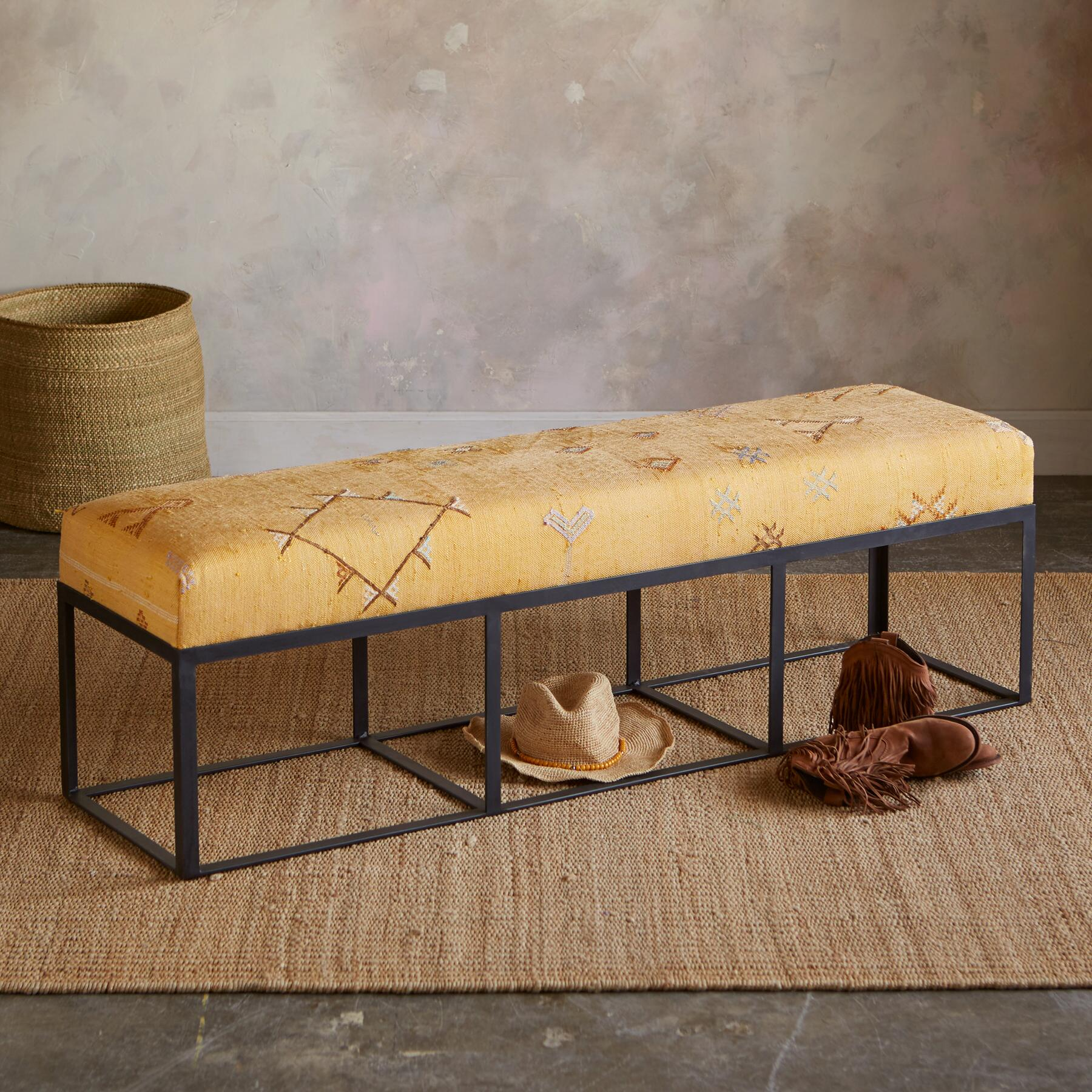 BAHT MOROCCAN BENCH: View 1