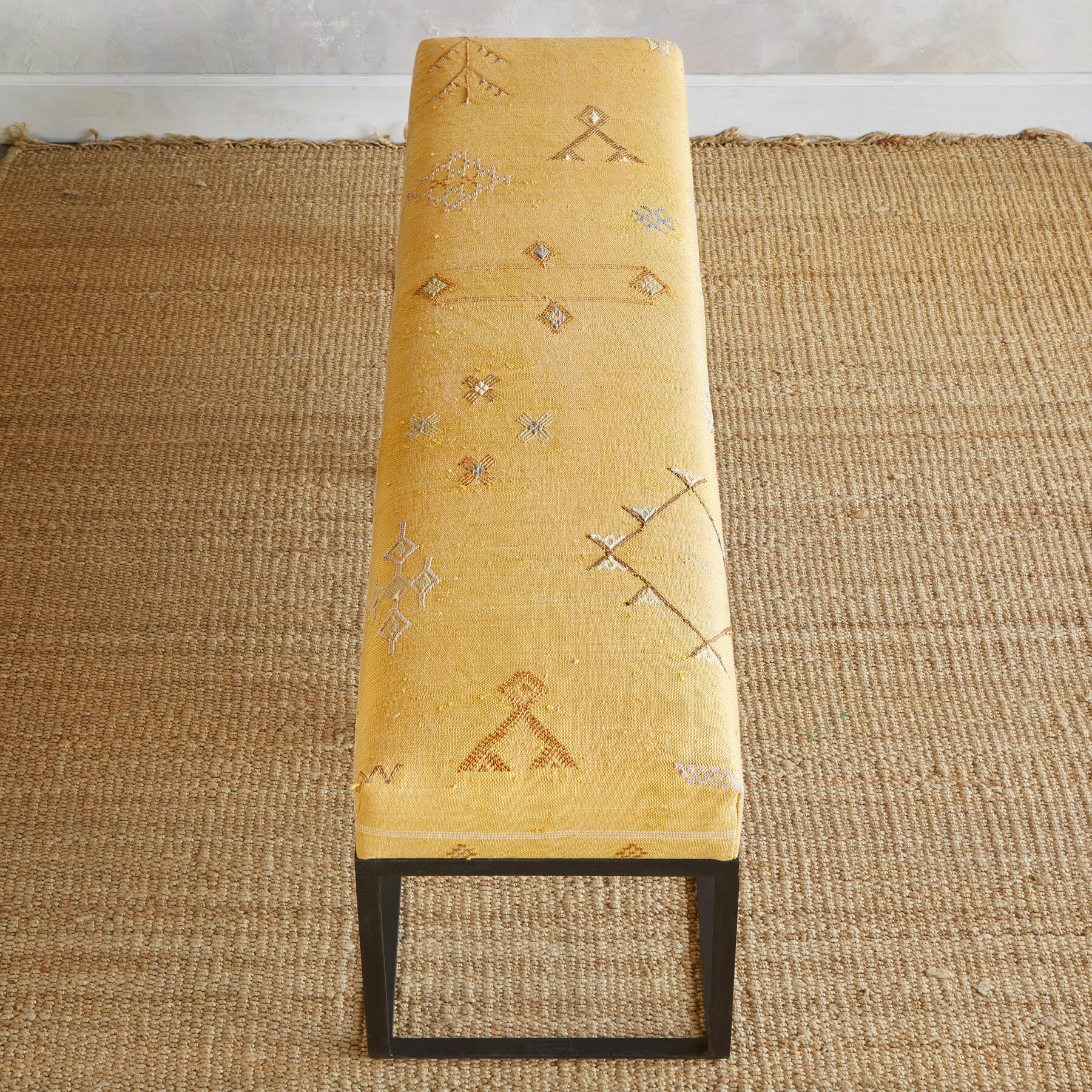 BAHT MOROCCAN BENCH: View 2