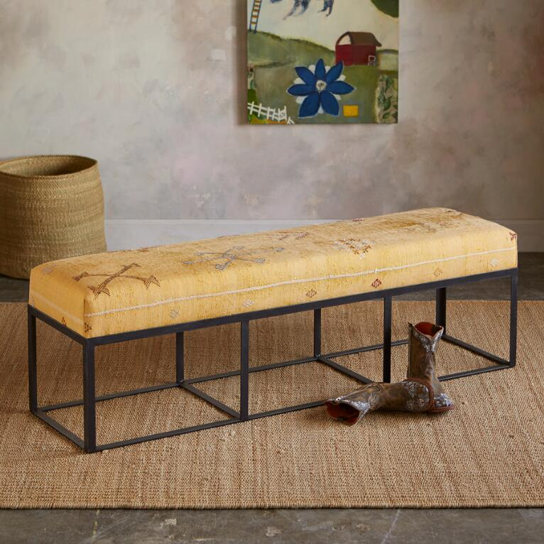BOU REGREG MOROCCAN BENCH
