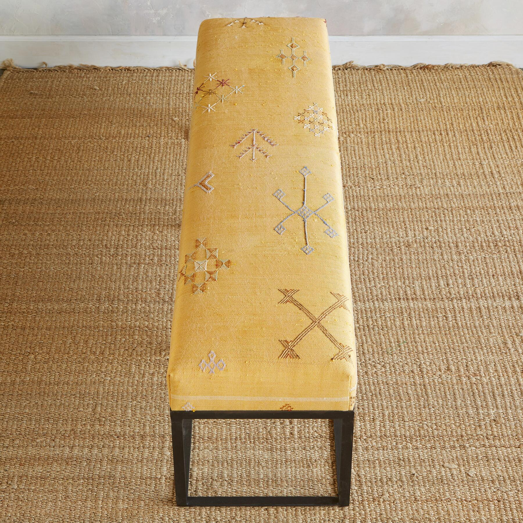 BOU REGREG MOROCCAN BENCH: View 2