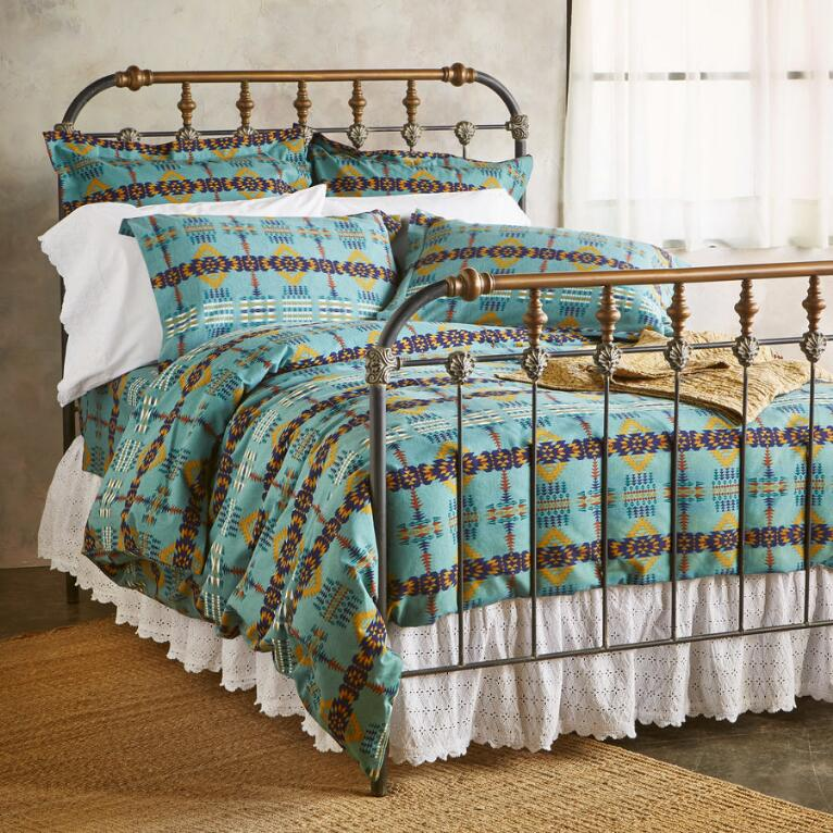 RANCHO ARROYO FLANNEL DUVET COVER