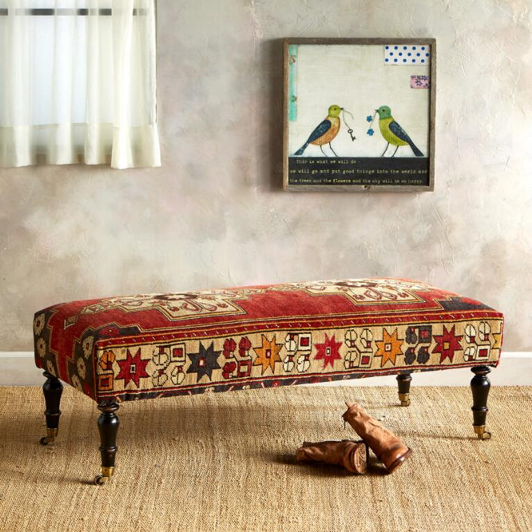 BURSA TURKISH CARPET BENCH
