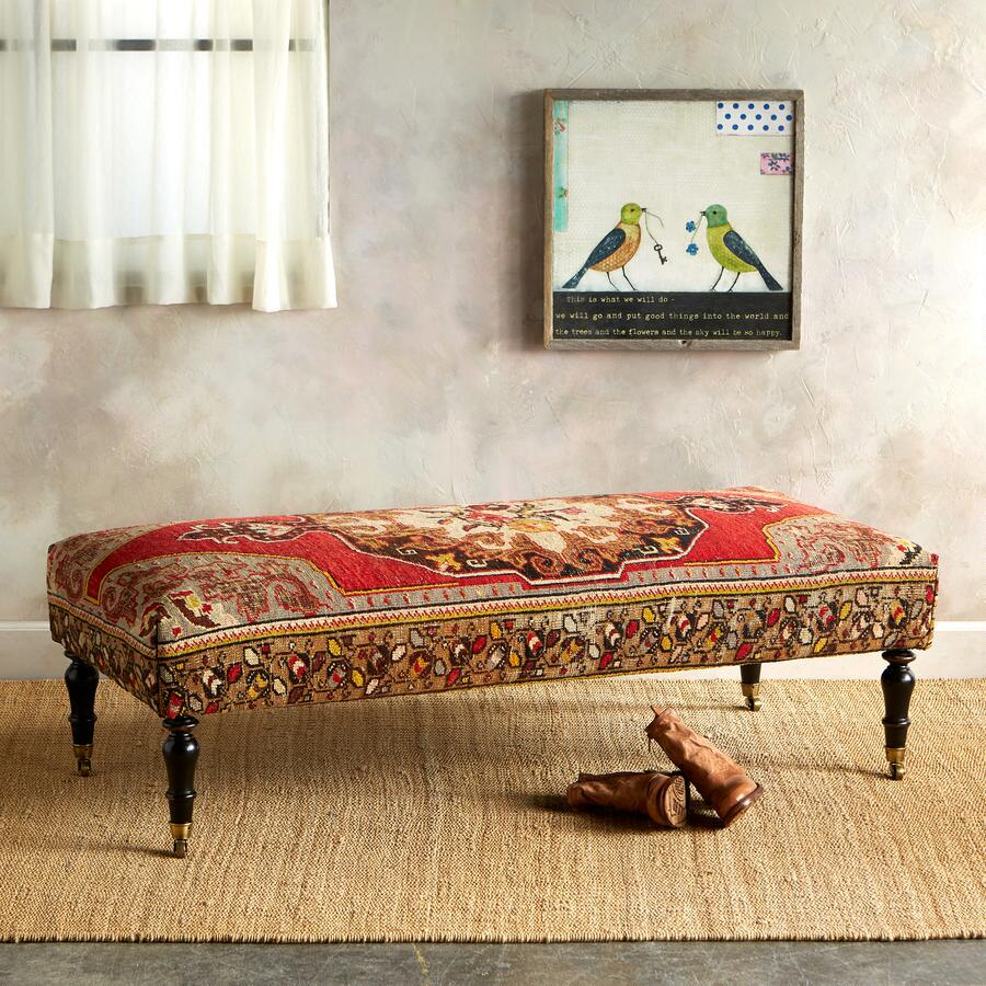 ADANA TURKISH CARPET BENCH