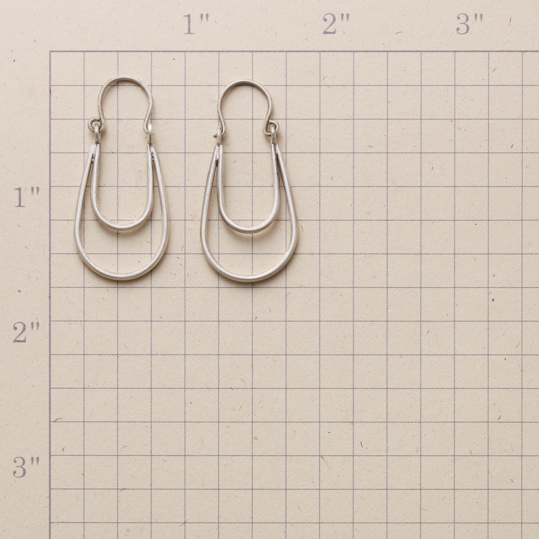STERLING ECHO EARRINGS: View 2