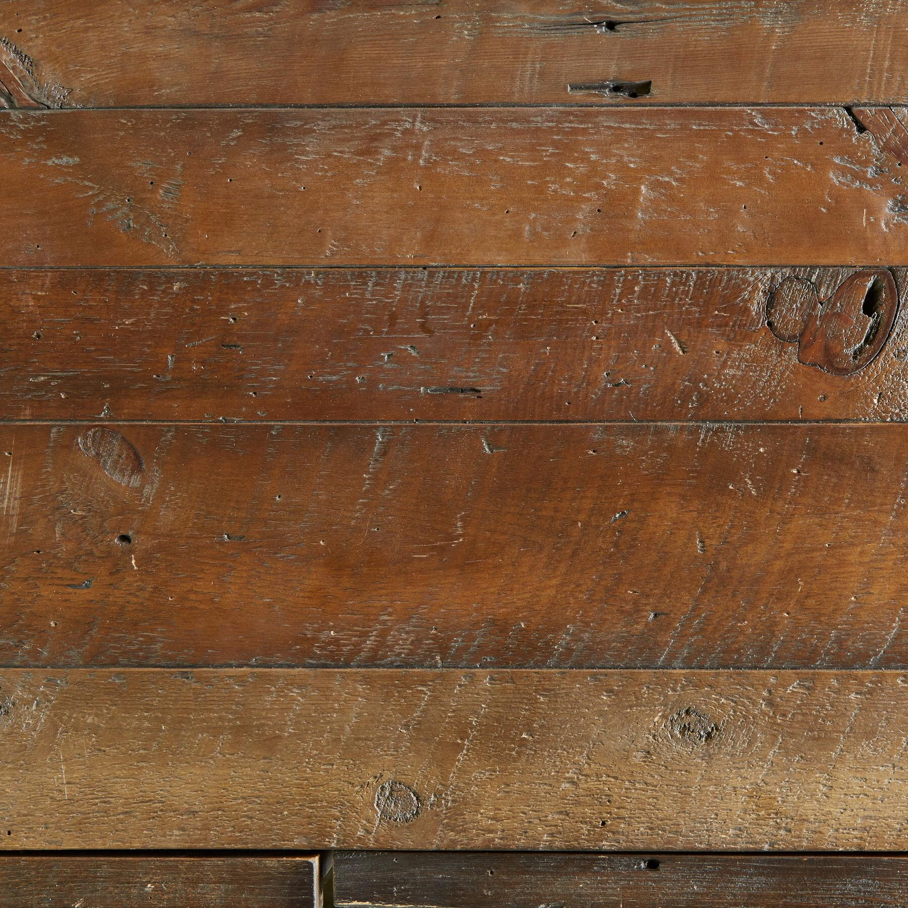 WEATHERED BARNWOOD LOW DRESSER: View 3