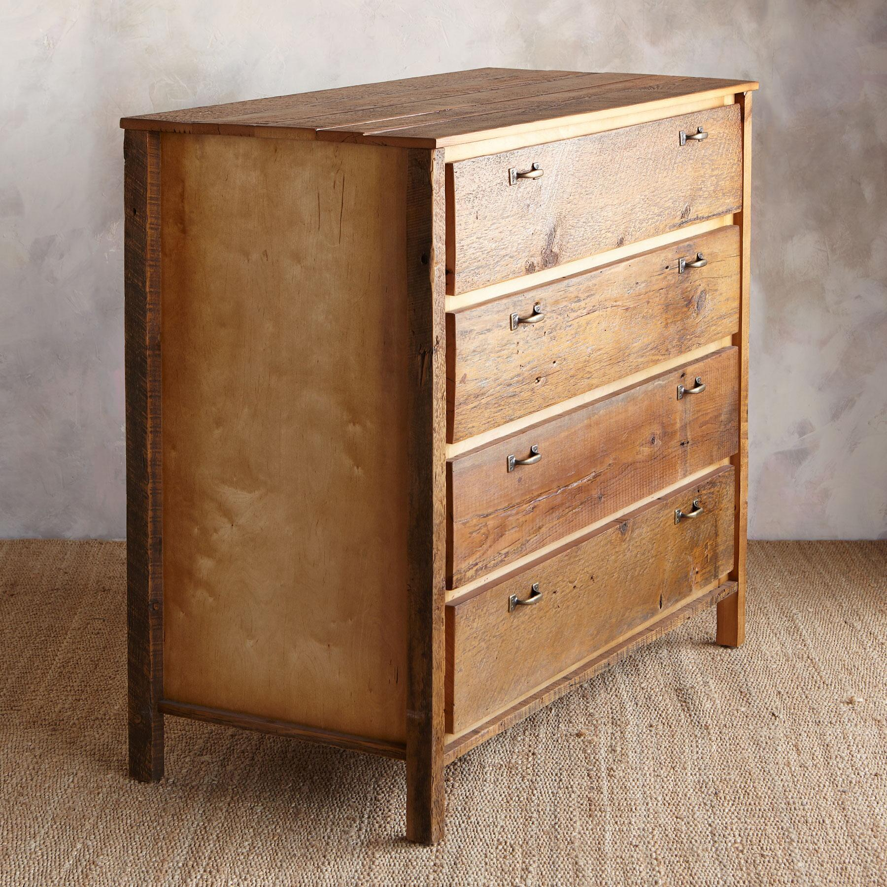 ANTIQUED PINE PROVENCE HIGH DRESSER: View 2
