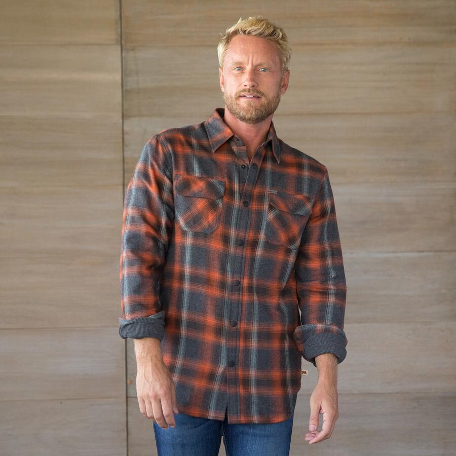 RUSTLER PLAID SHIRT