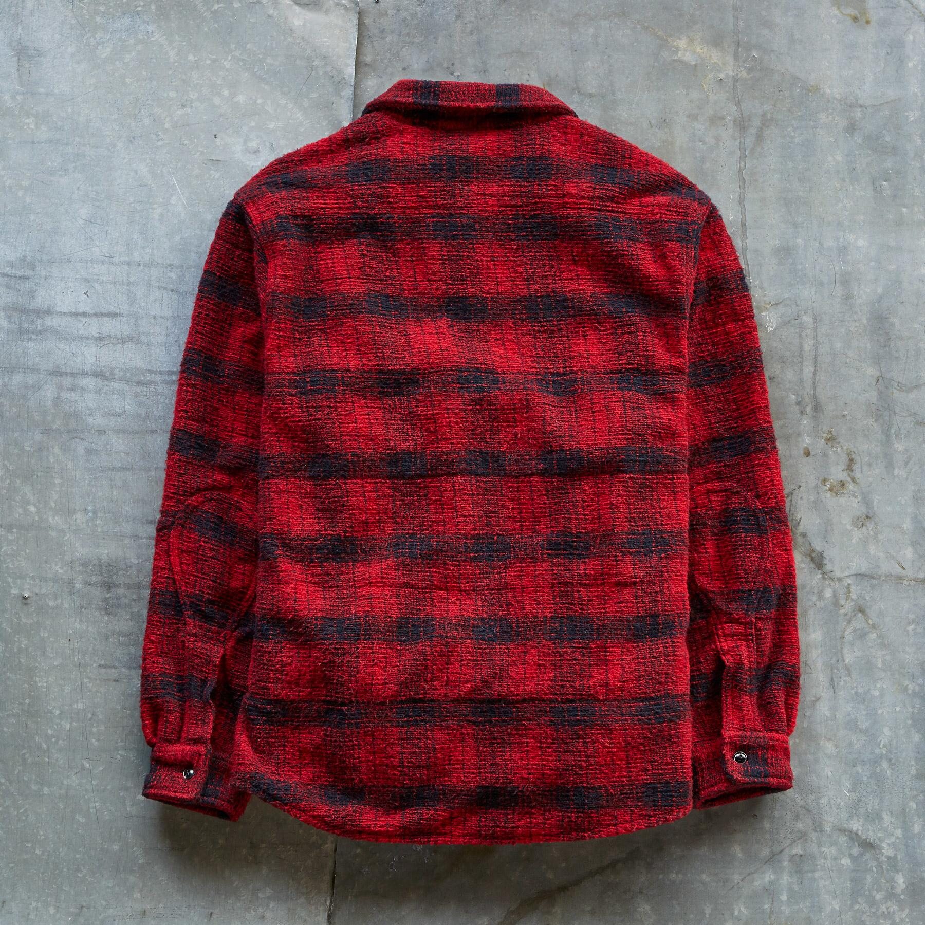 OUTFITTER PLAID SHIRT JACKET: View 2
