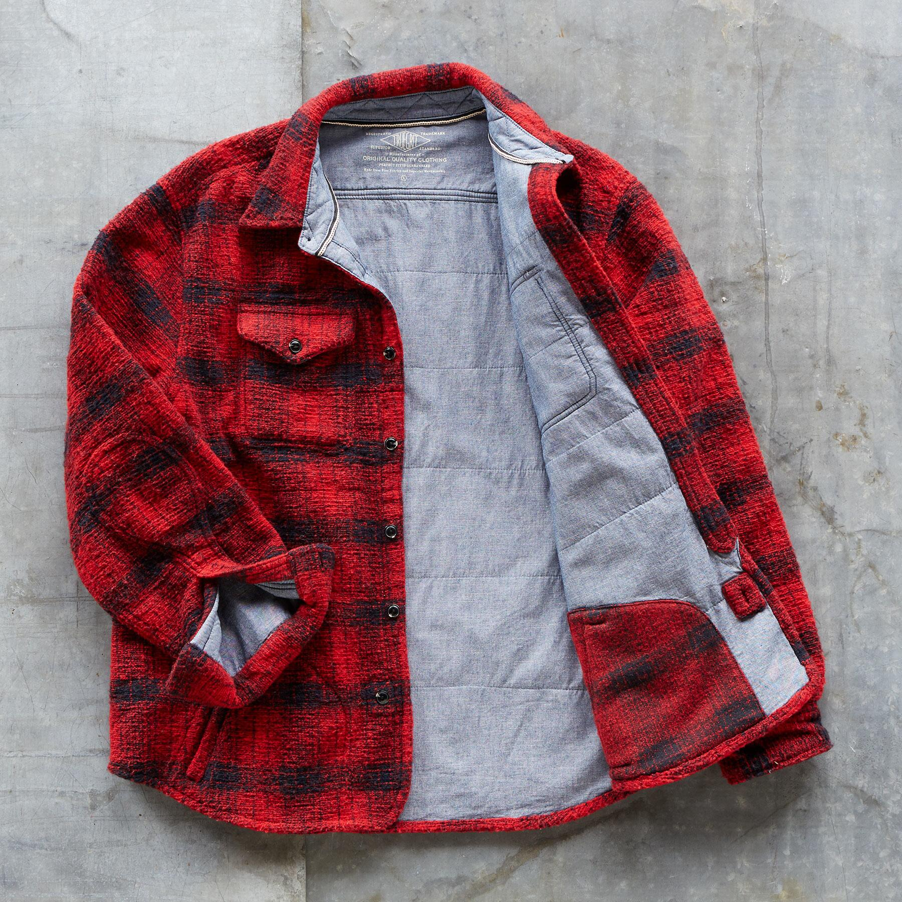 OUTFITTER PLAID SHIRT JACKET: View 3