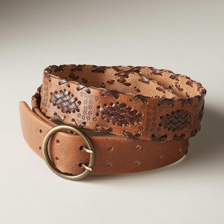 ALMA LEATHER BELT