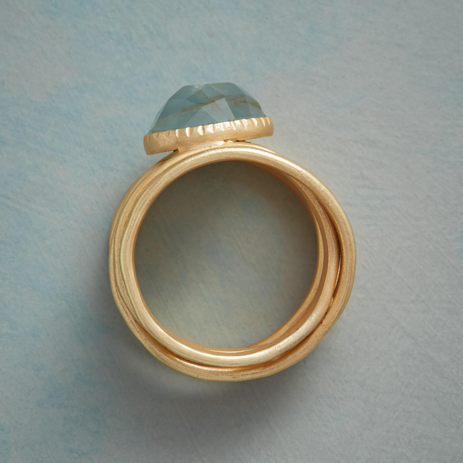 WRAPPED IN GOLD RING: View 2