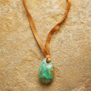 TETHERED TURQUOISE NECKLACE