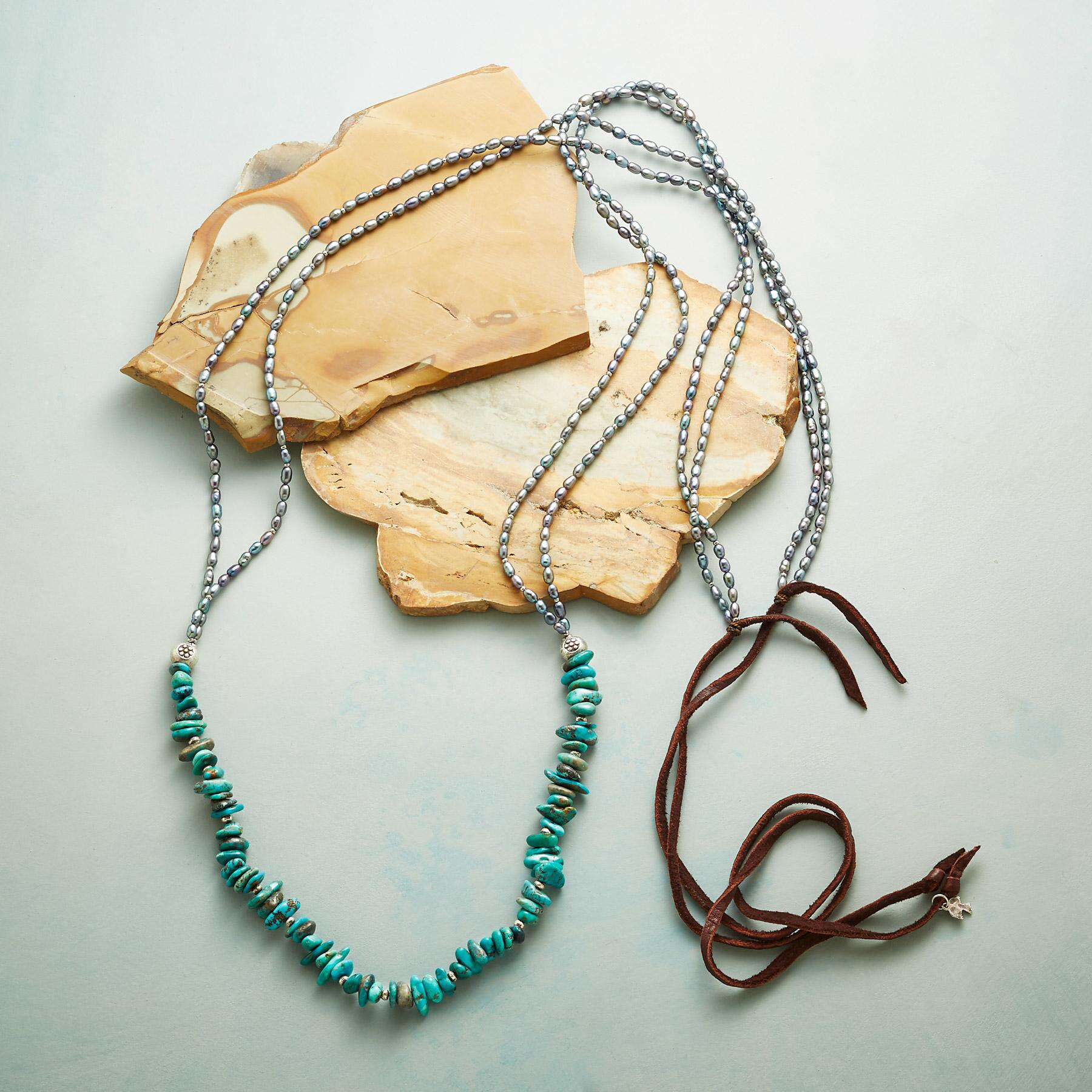 TURQUOISE CAIRN NECKLACE: View 2