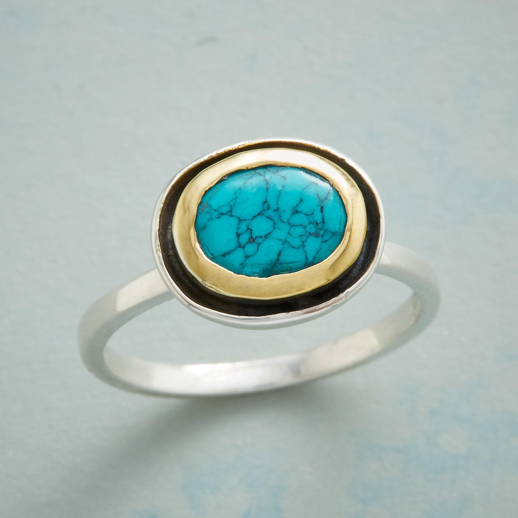 TURQUOISE WHIRLPOOL RING: View 1