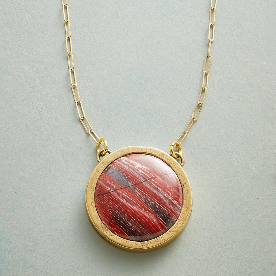 JASPER MOON NECKLACE