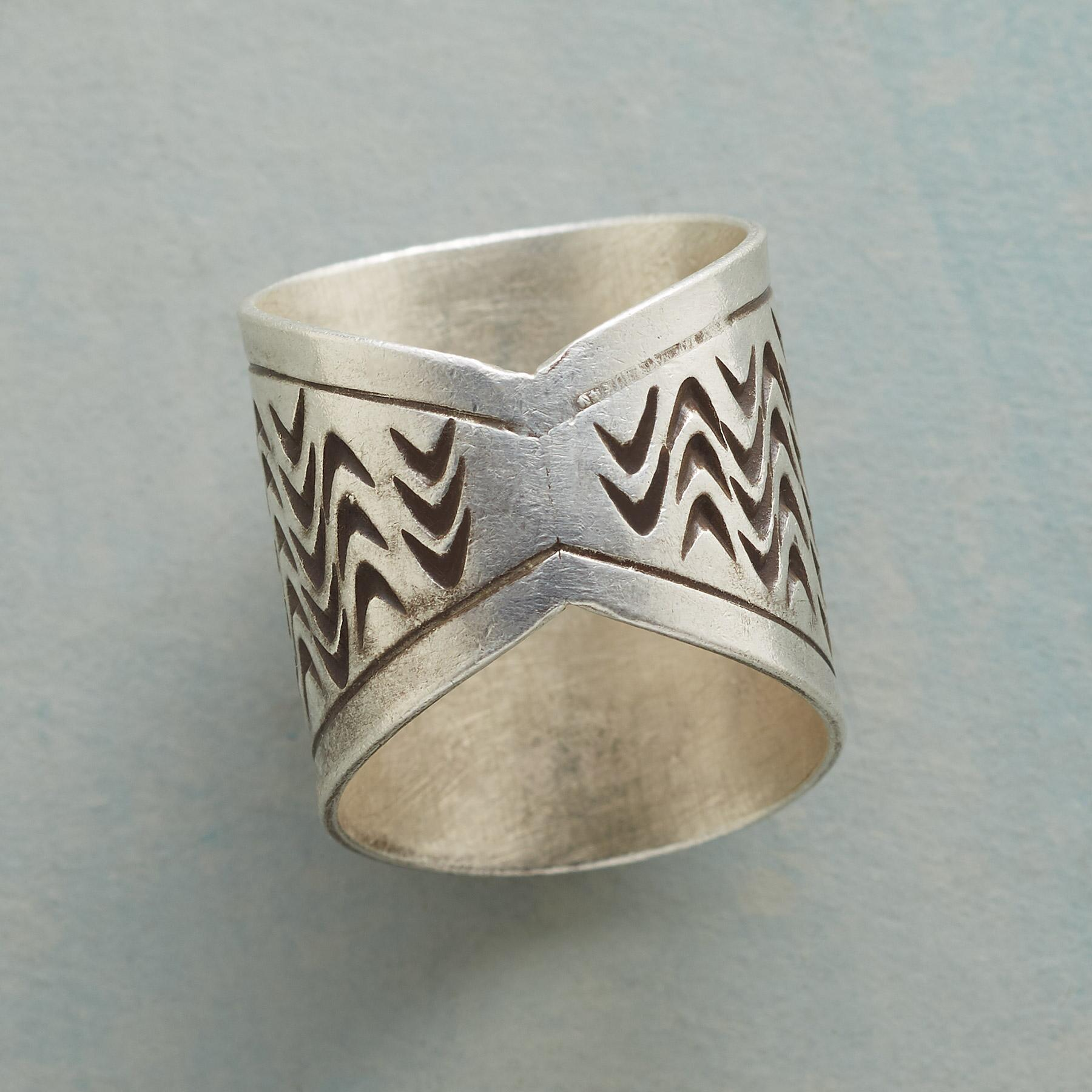 STERLING PONY RING: View 2