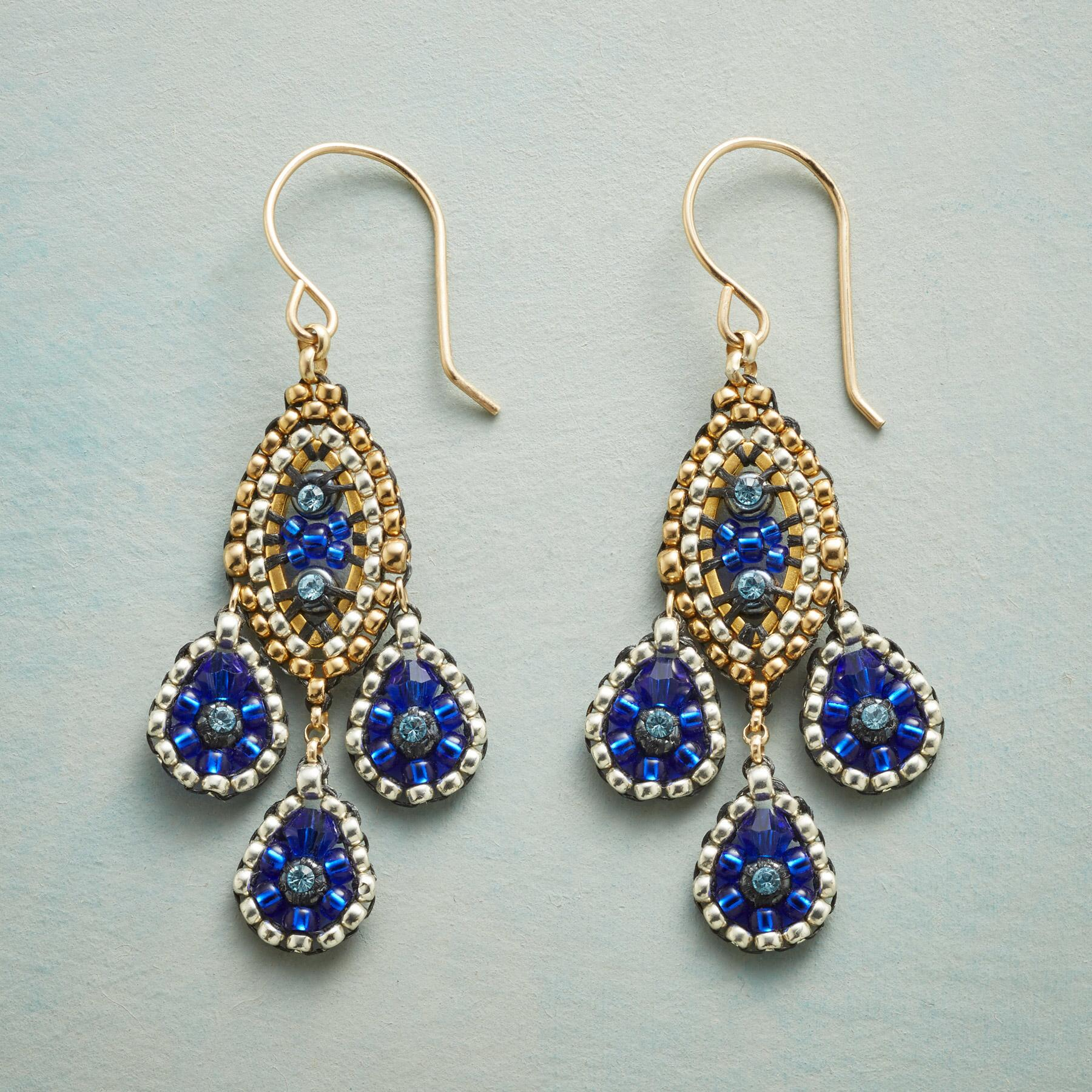 PARISIAN NIGHTS EARRINGS: View 1