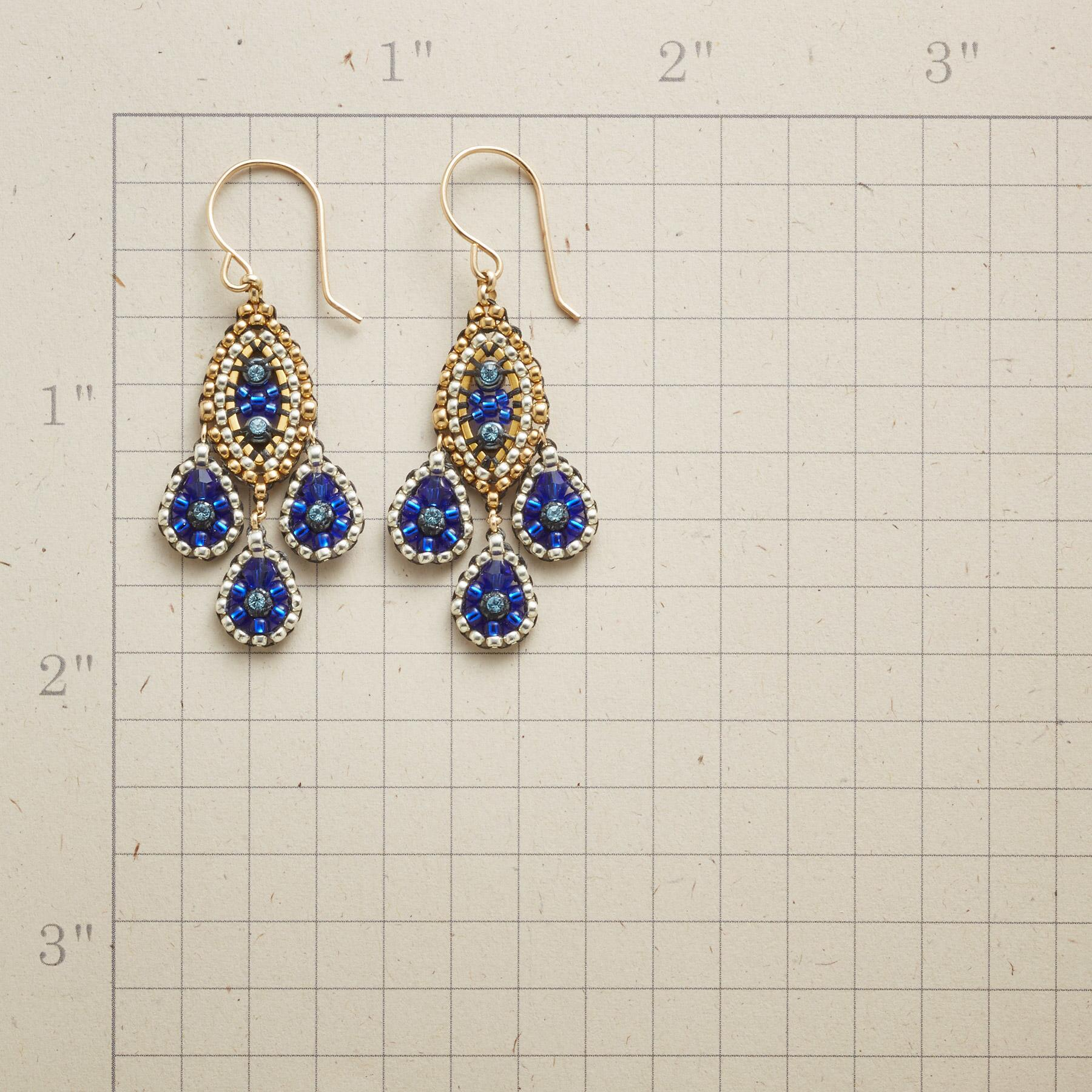 PARISIAN NIGHTS EARRINGS: View 2