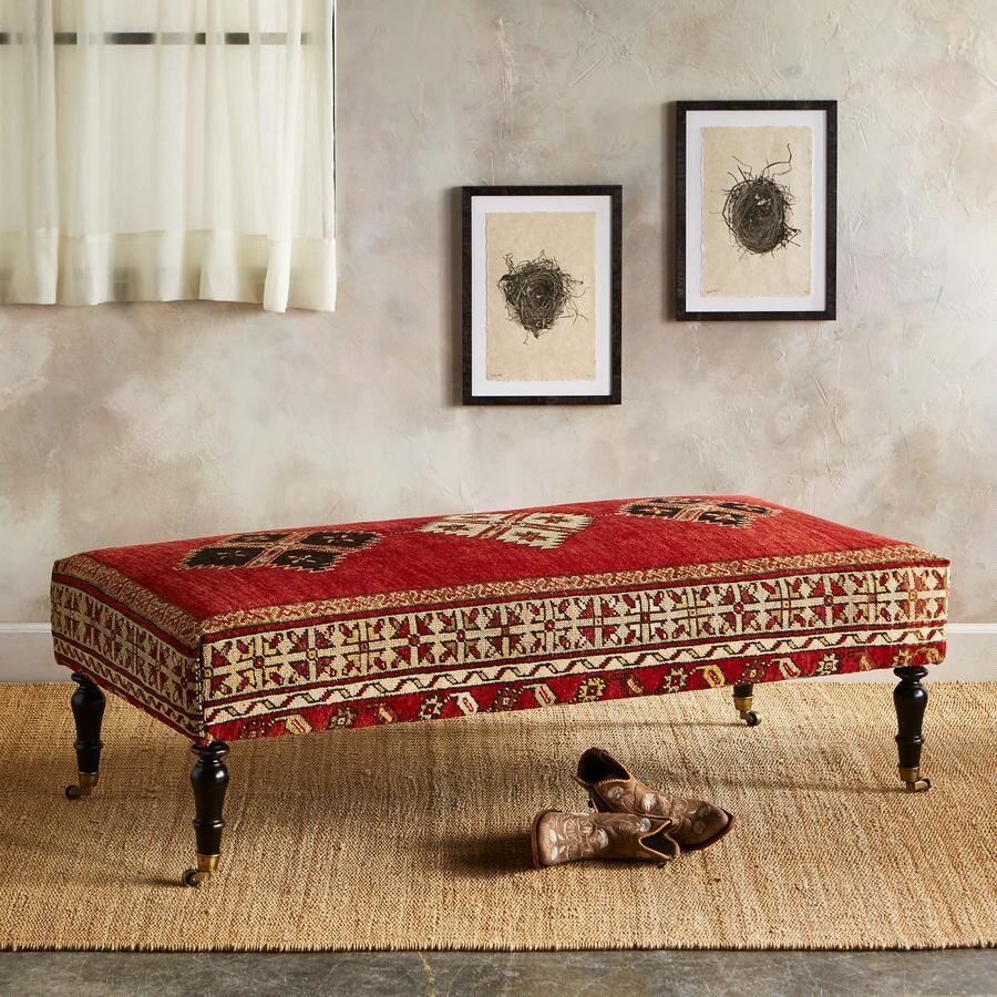 DIYARBAKIR TURKISH CARPET BENCH
