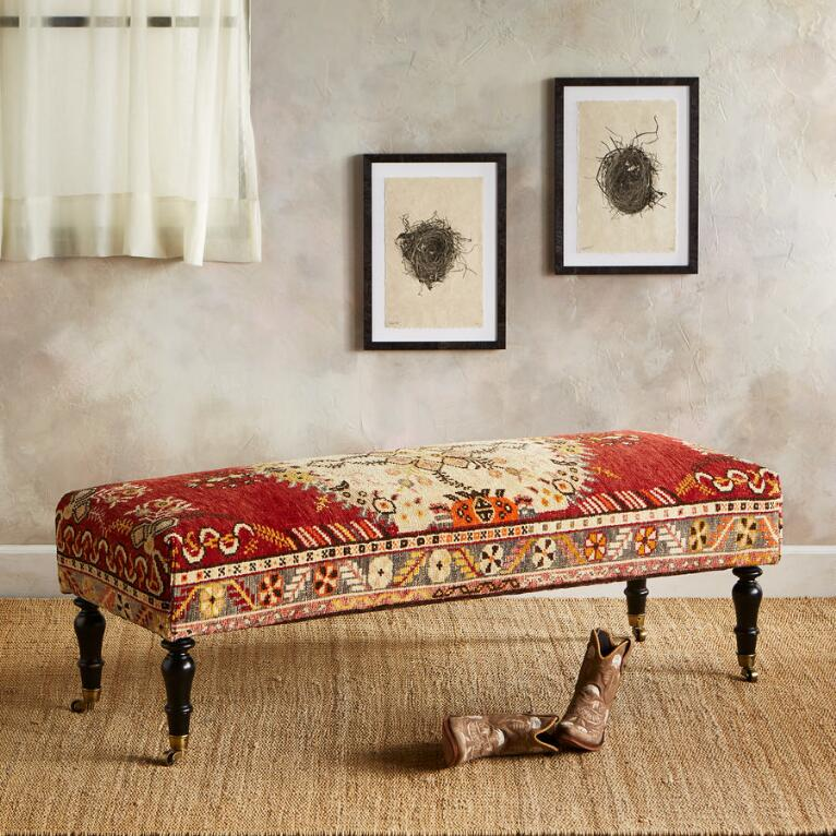 SAMSUN TURKISH CARPET BENCH
