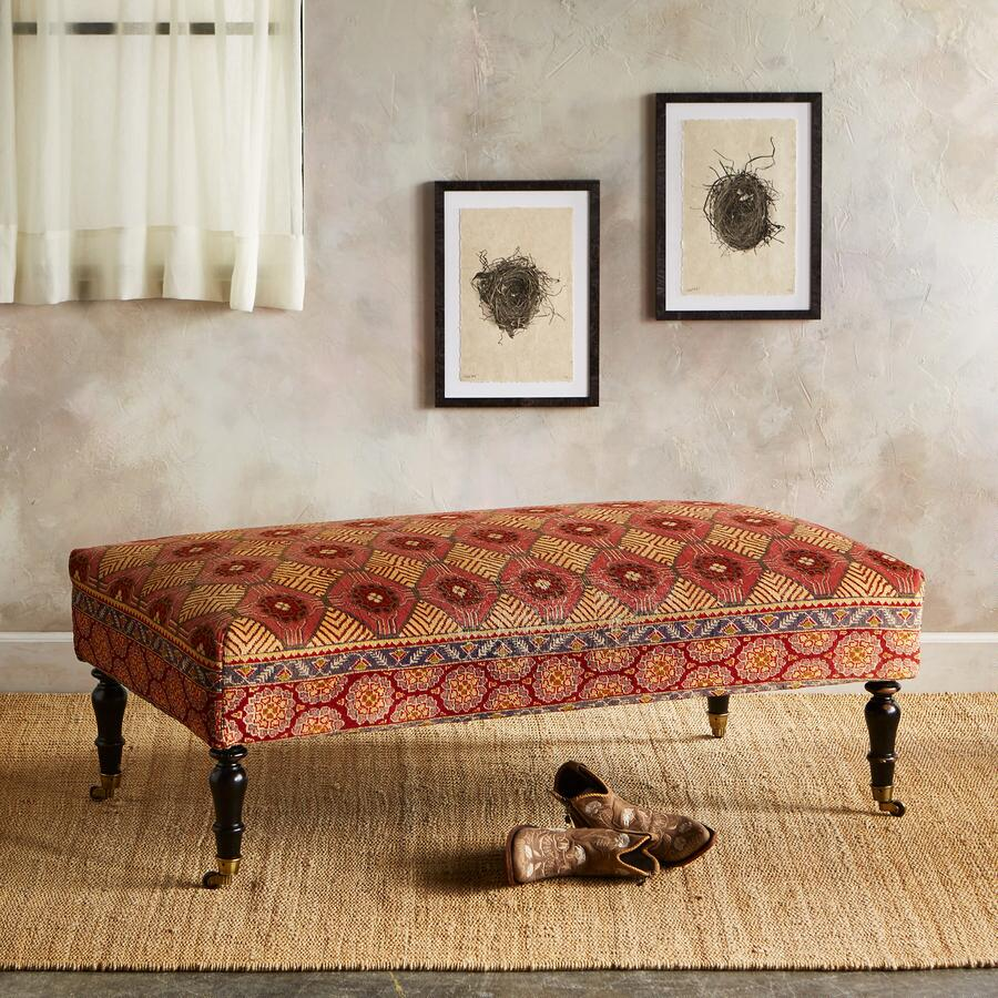 DENIZLI TURKISH CARPET BENCH