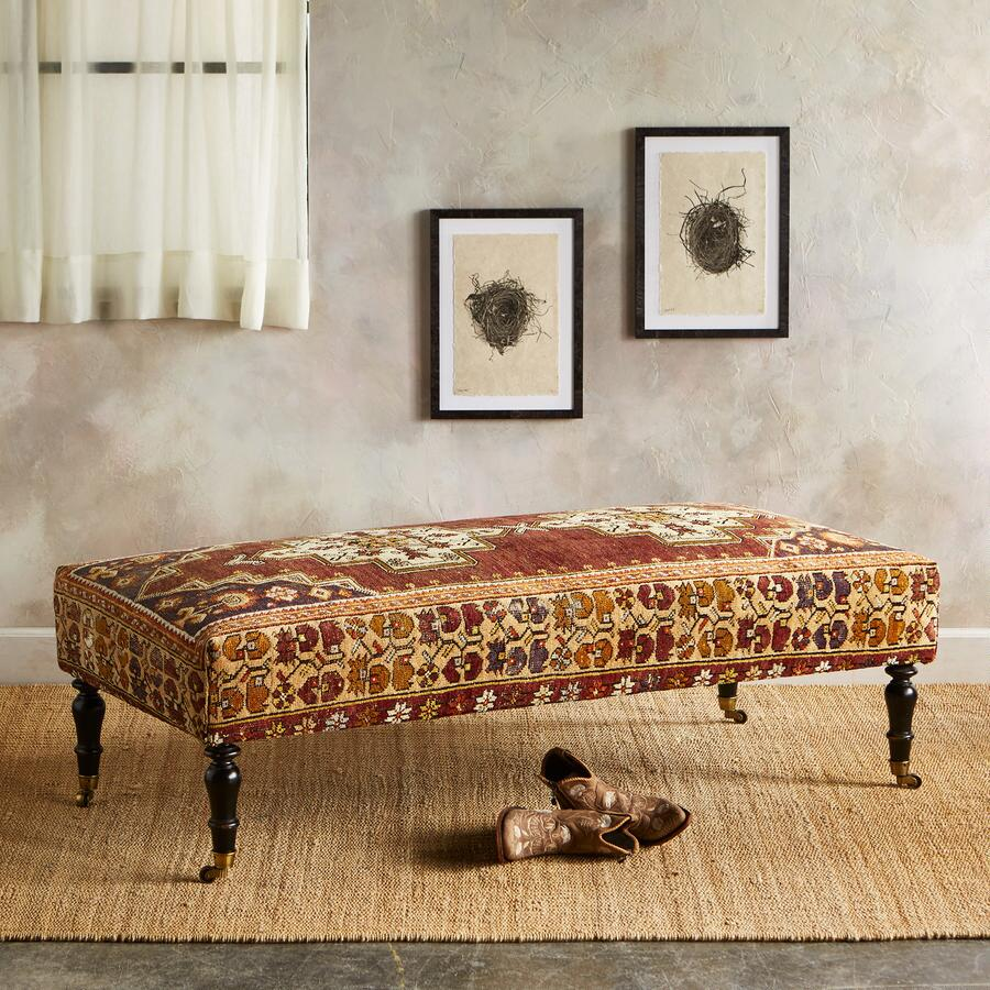 MALATYA TURKISH CARPET BENCH