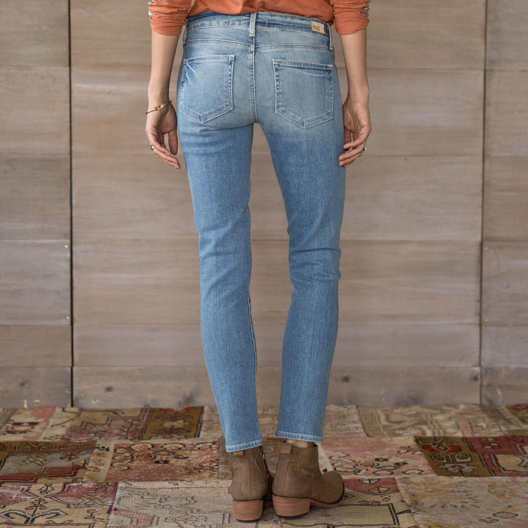 SKYLINE ANGLE PEG JEANS BY PAIGE: View 2