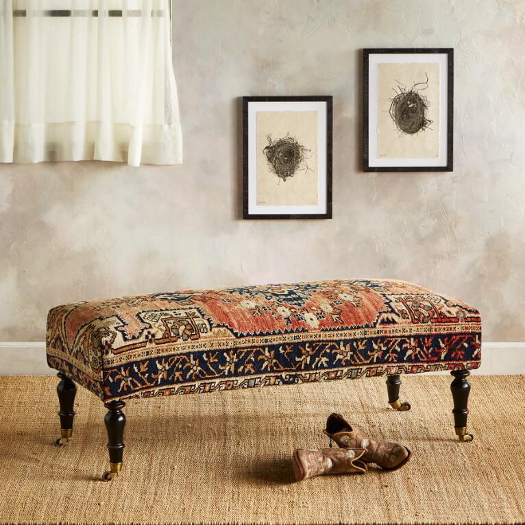 MANISA TURKISH CARPET BENCH