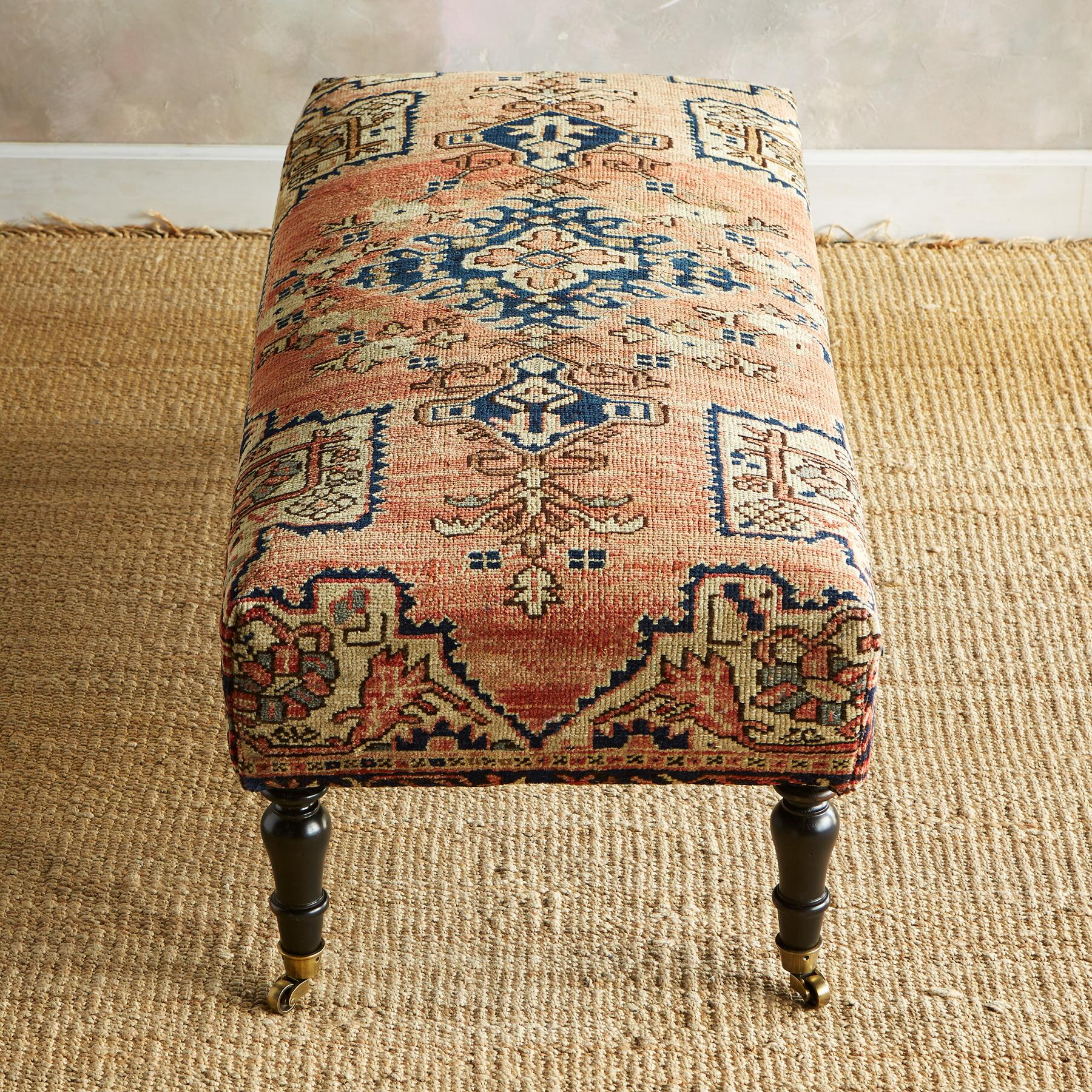 MANISA TURKISH CARPET BENCH: View 2