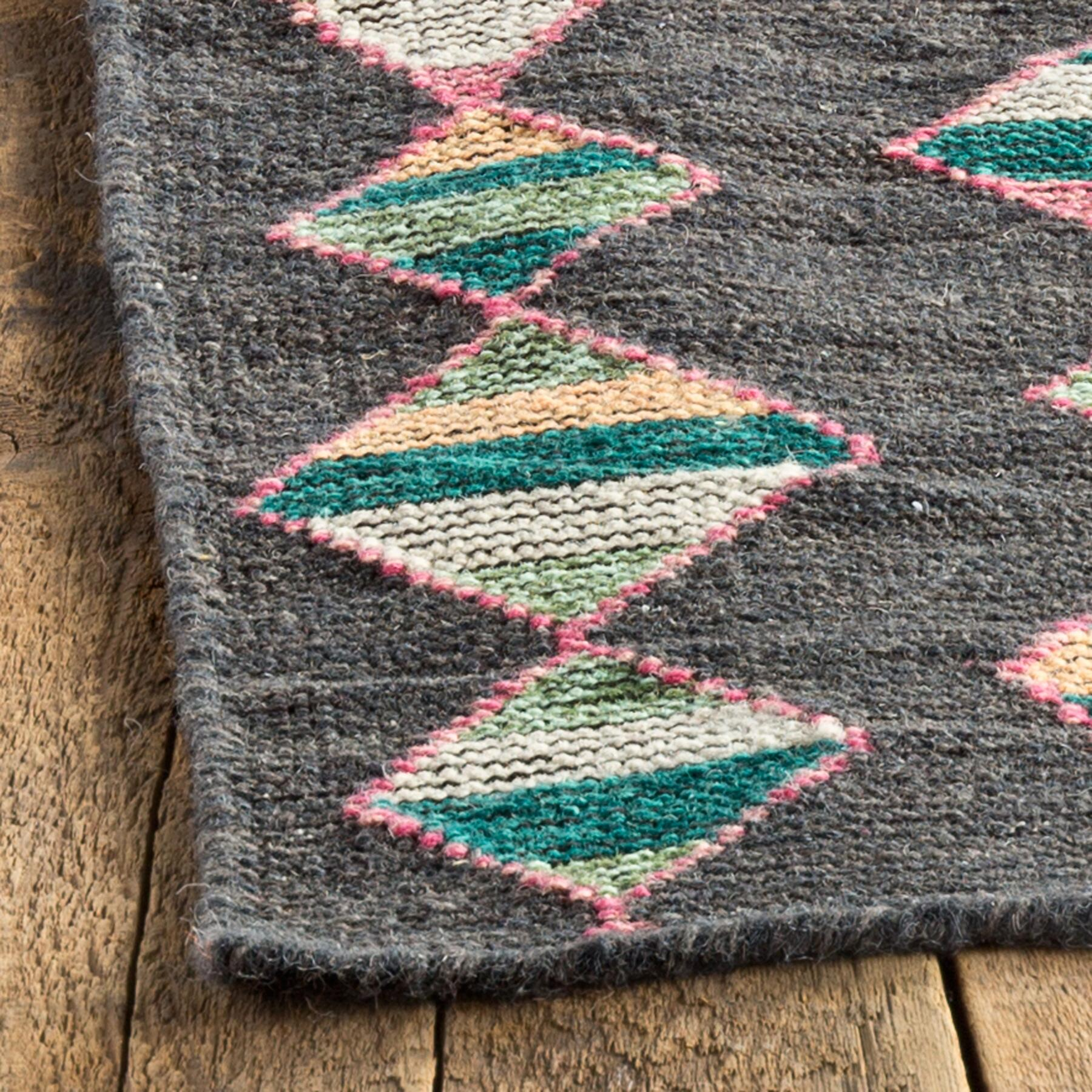 MINERAL BASIN DHURRIE RUG - SM: View 2