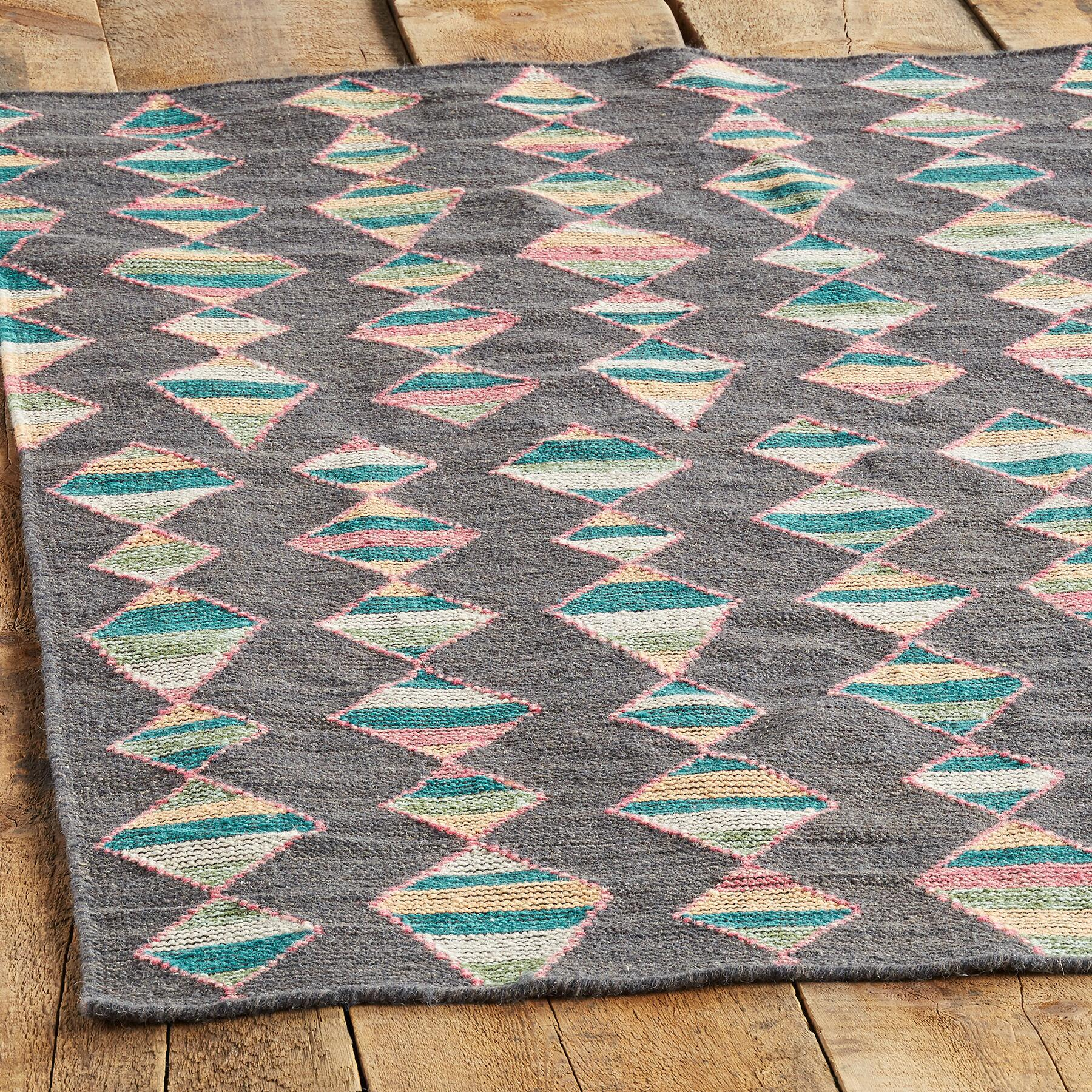 MINERAL BASIN DHURRIE RUG - SM: View 3