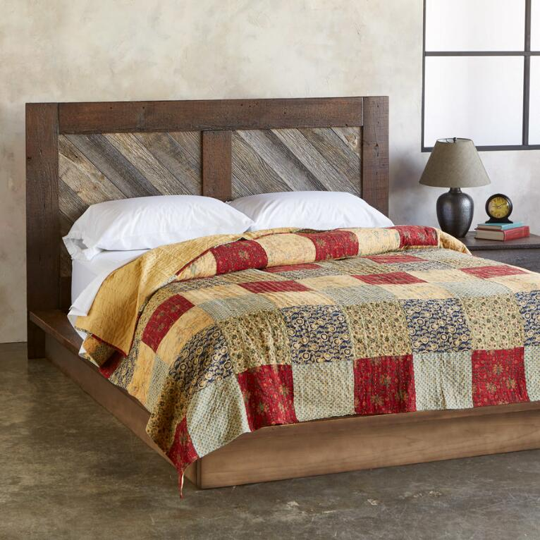 ADDISON PATCHWORK LIGHTWEIGHT QUILT