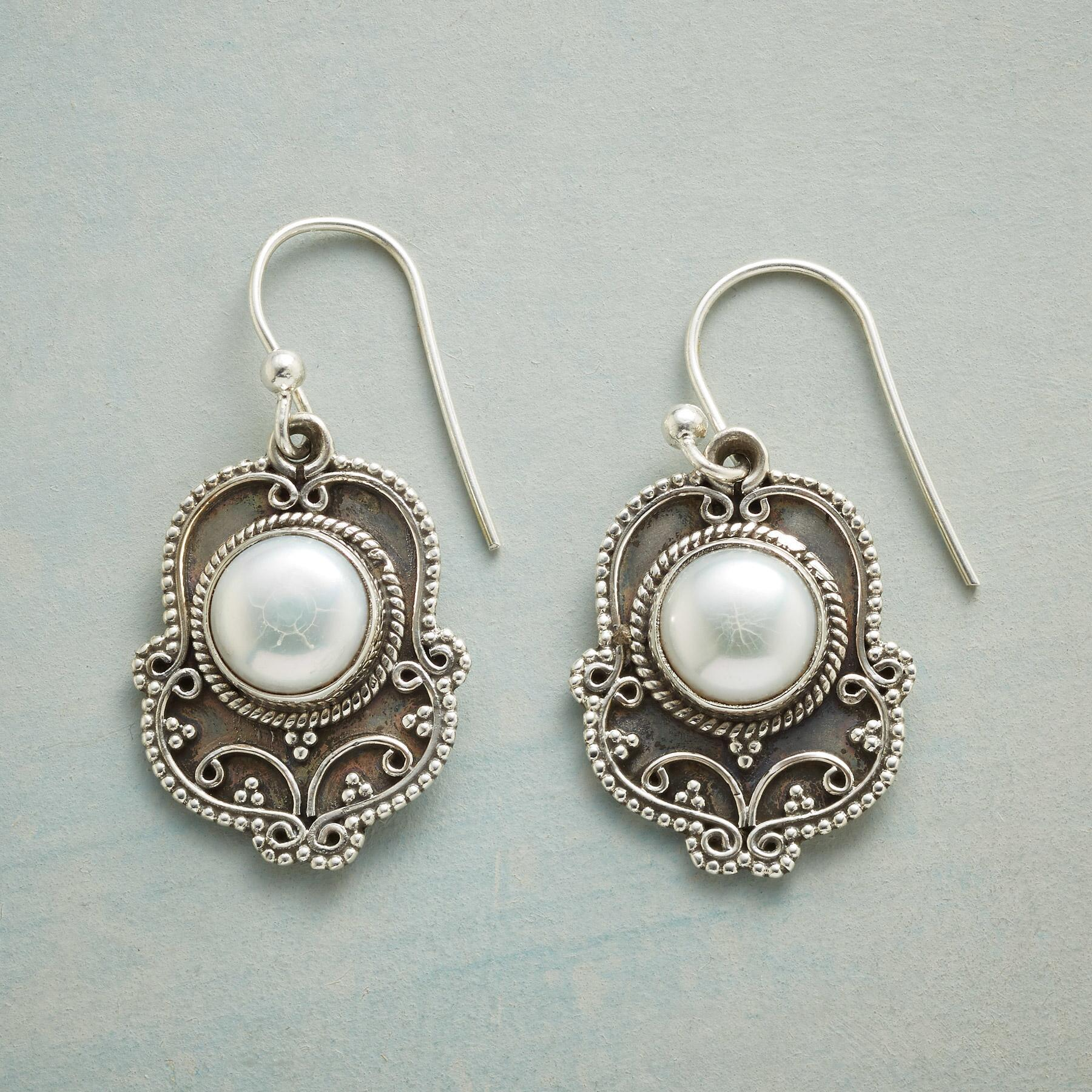 ELEVATED PEARL EARRINGS: View 1