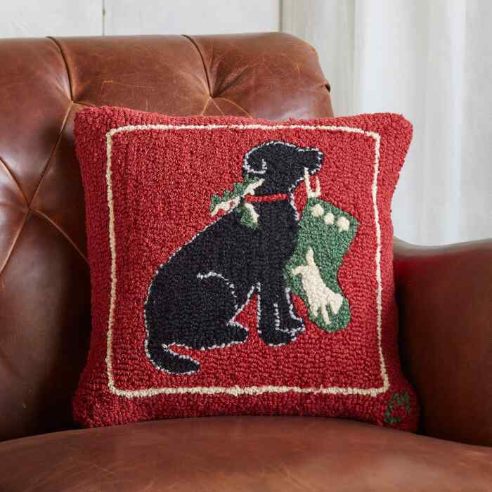 LOVEABLE LAB PILLOW