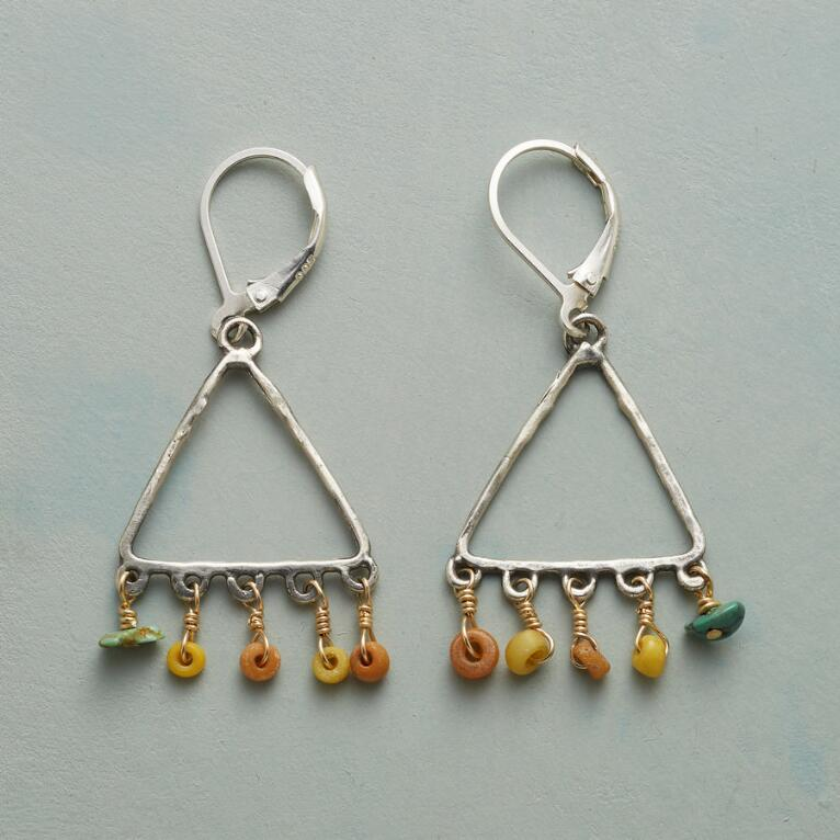 TRADER'S TRIANGLE EARRINGS