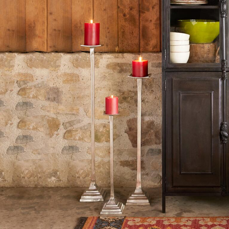 PATINA CANDLE STANDS S/3