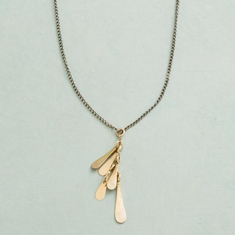 GOLD FRILL NECKLACE