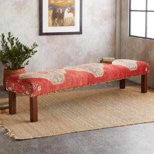 SINOP TURKISH CARPET BENCH