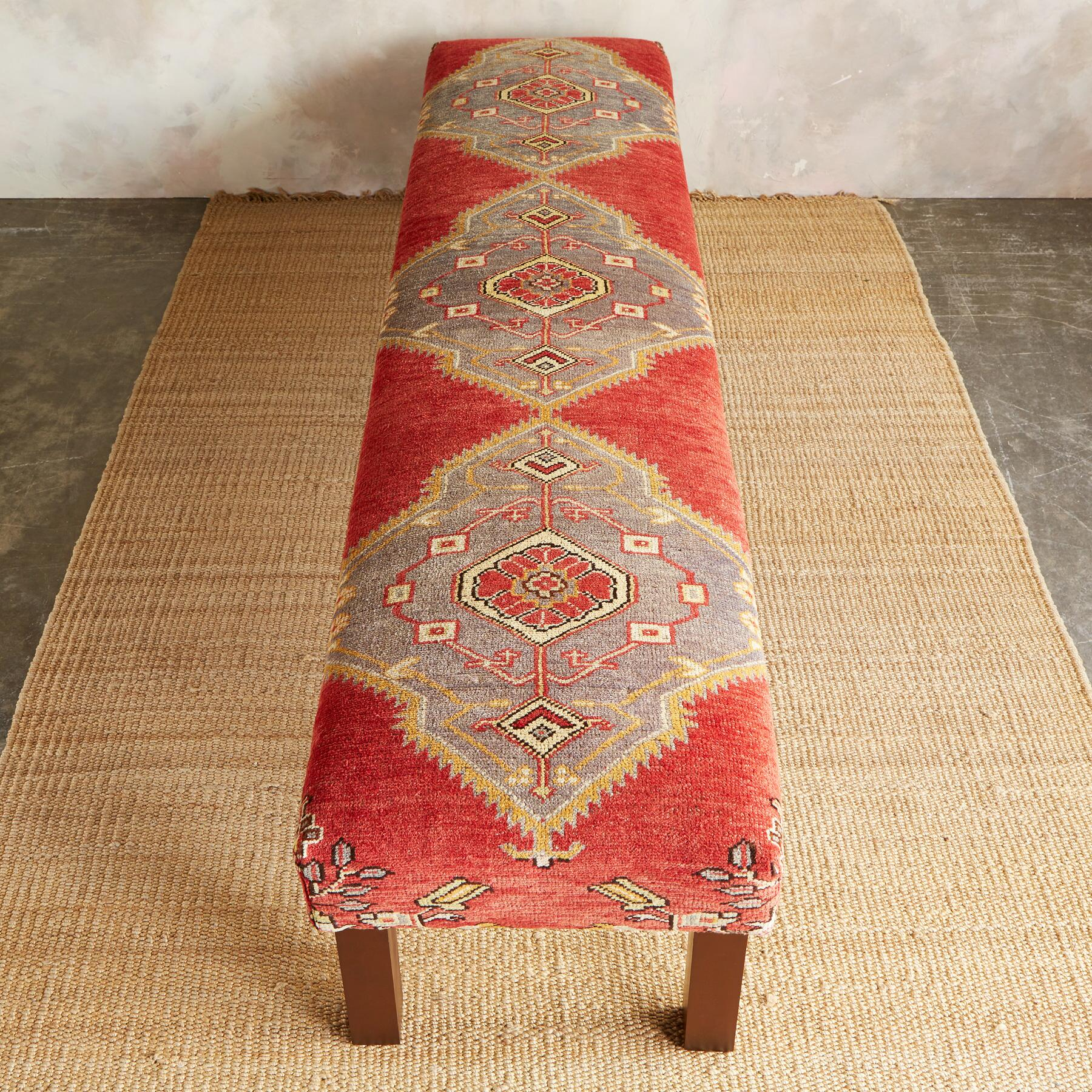 SINOP TURKISH CARPET BENCH: View 2