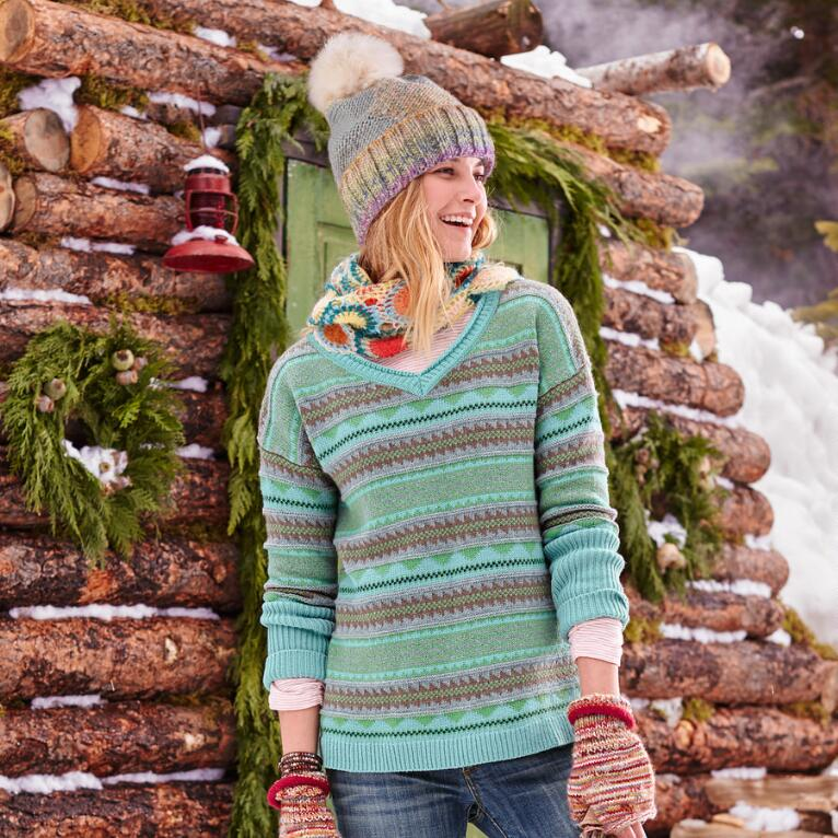 NORDIC ISLES PULLOVER