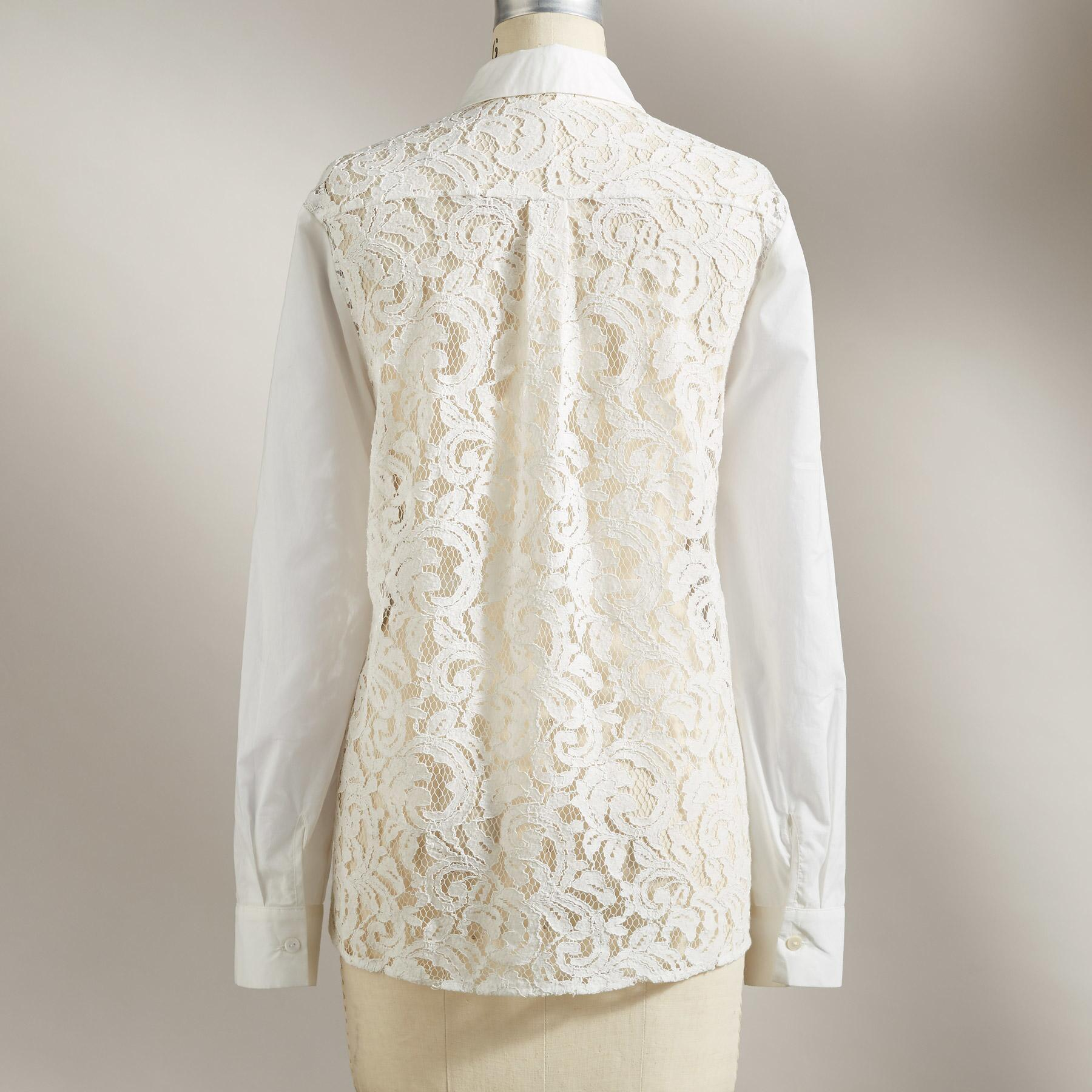 ENLIVEN LACE BLOUSE: View 2