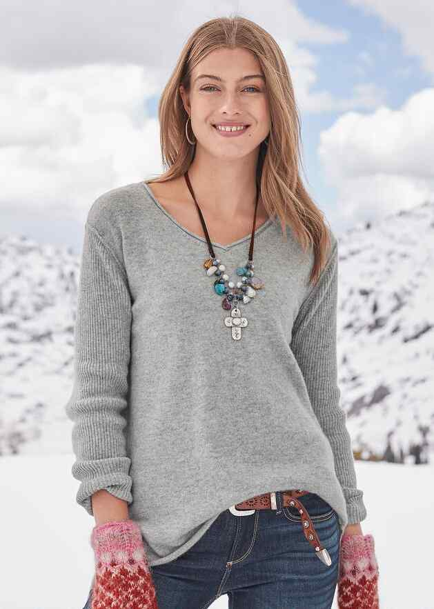 BELOVED CASHMERE PULLOVER