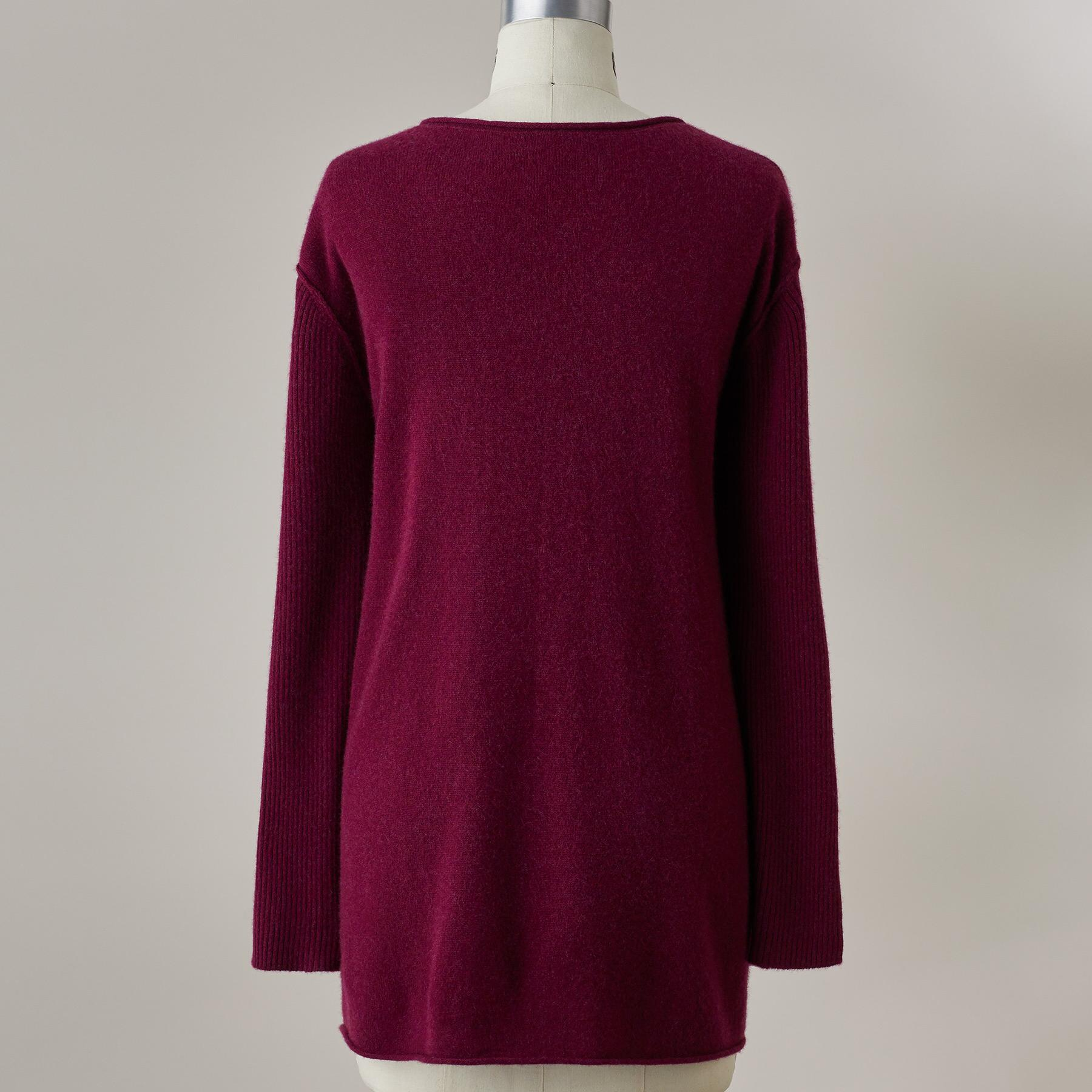 BELOVED CASHMERE PULLOVER - PETITES: View 4