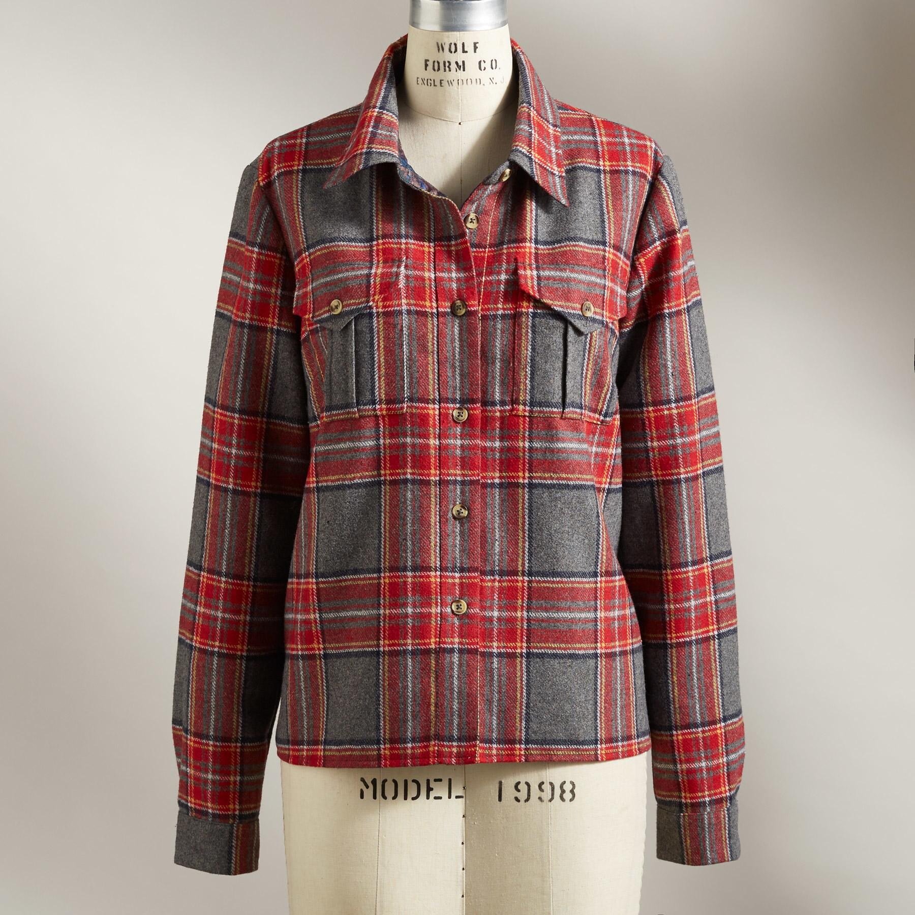 DRESSED-UP SHIRT JACKET: View 3