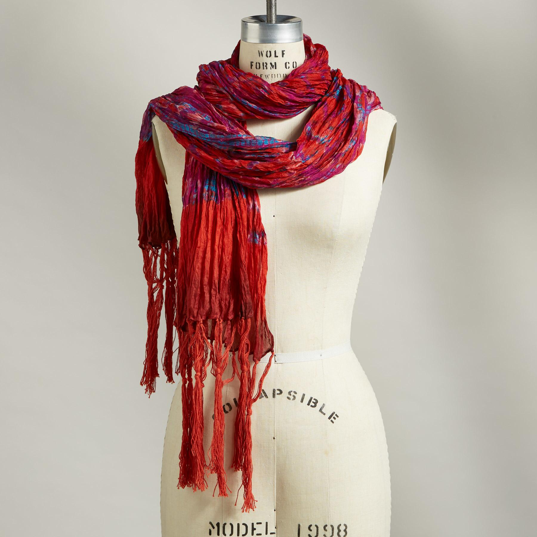 FIRE & ICE SCARF: View 1