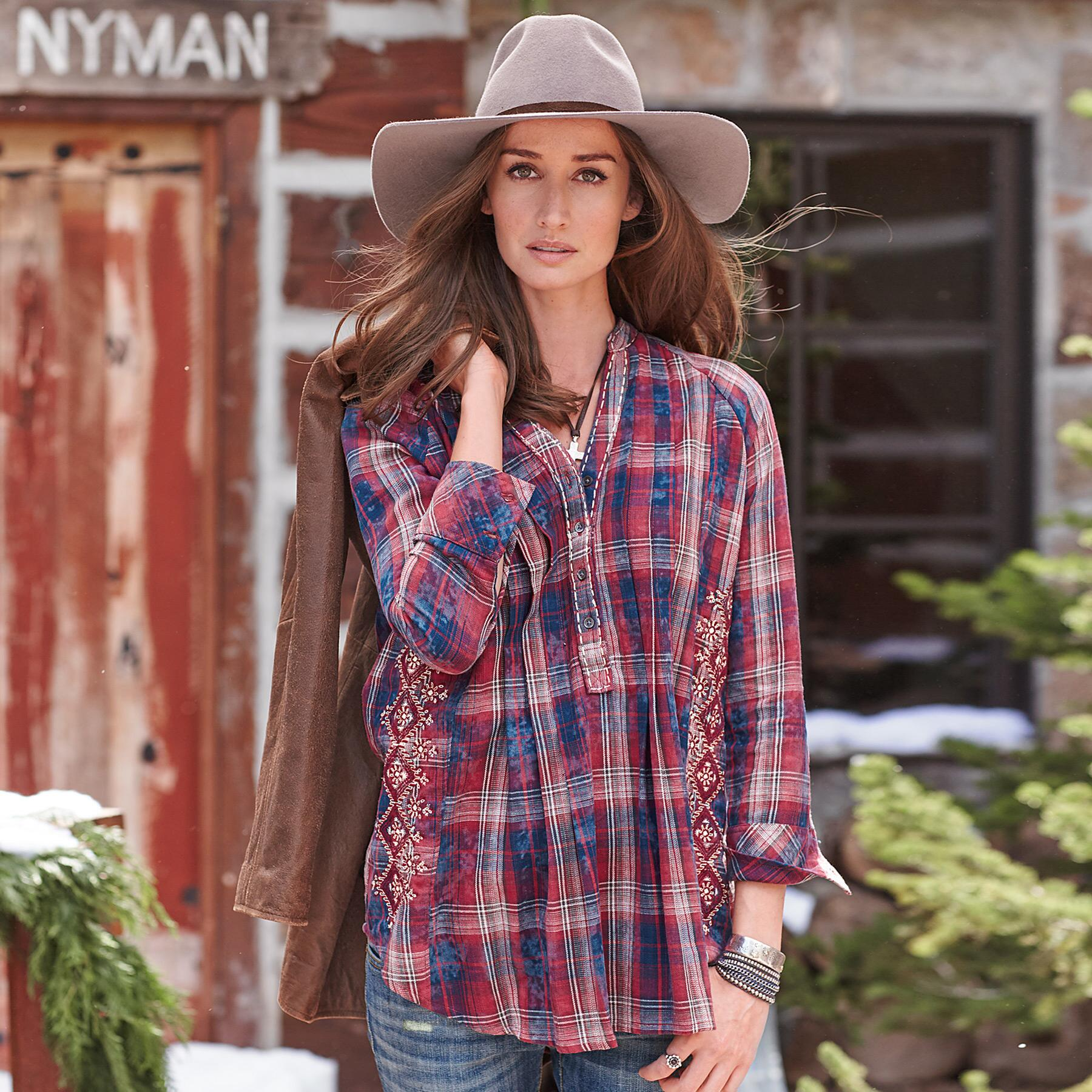 GREAT WESTERN PLAID SHIRT: View 1