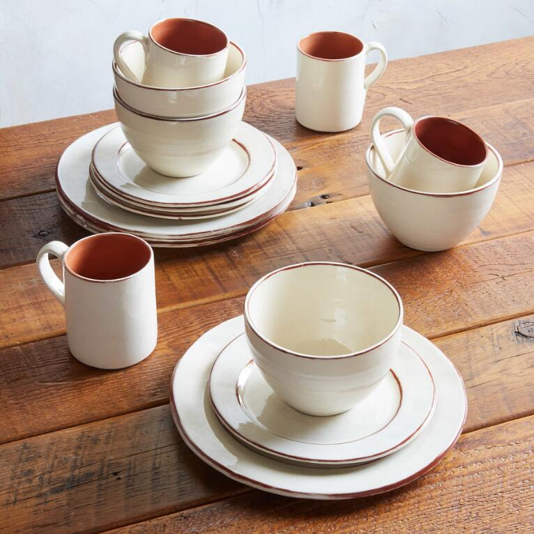 MIDI DINNERWARE, 16-PIECE PLACE SETTING