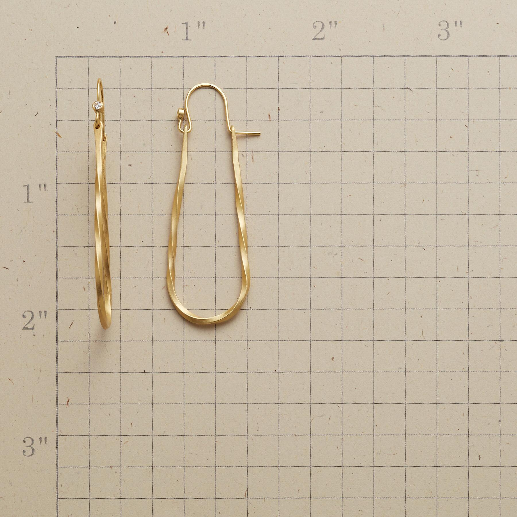 TWINKLING LOOP EARRINGS: View 2